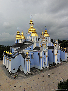 Sankt-Michaels-Kathedrale in Kiev/Ukraine, Foto: russavia, Wikimedia Commons